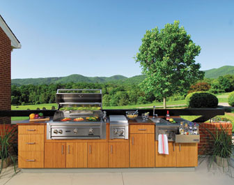 Atlantis Outdoor Kitchens - Bamboo