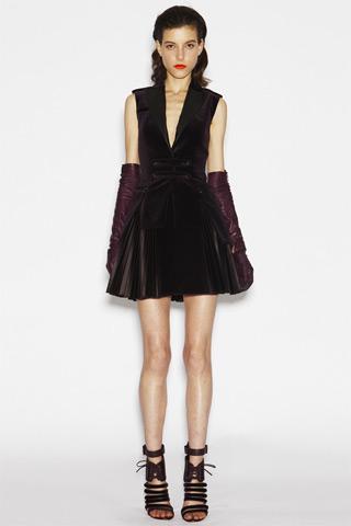 Versus платья осень-зима 2010