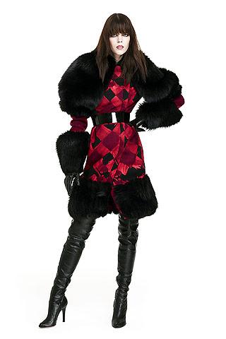 Пальто с мехом 2010