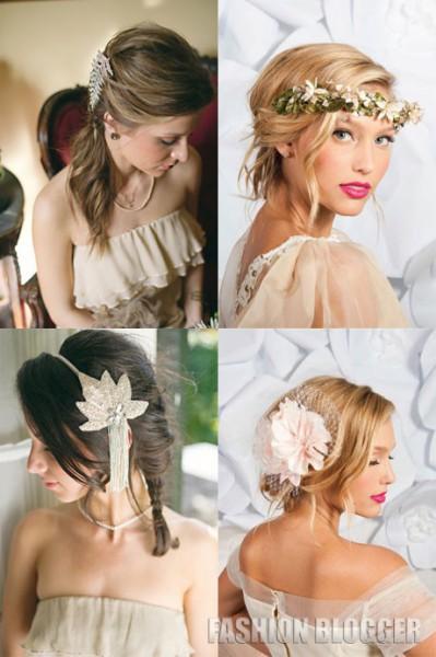 прически 2012 молодежные женские на свадьбу