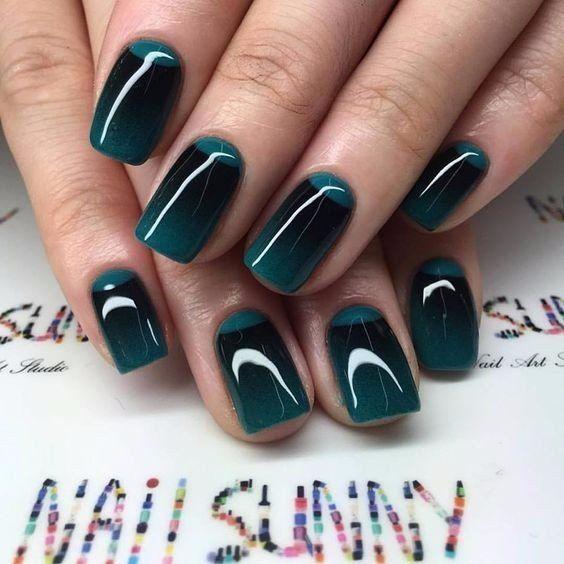 Фото новинки красивый дизайн ногтей 2019 (22)