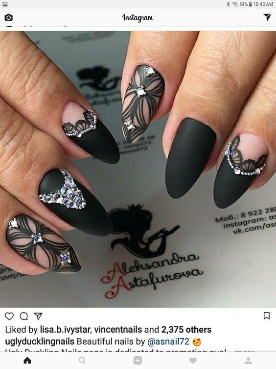 Фото новинки красивый дизайн ногтей 2019 (4)