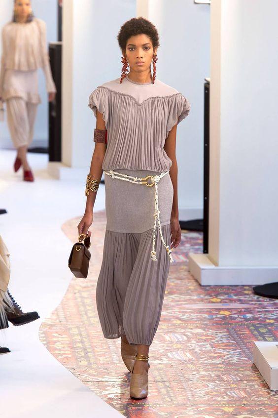 Вязаные платья 2019 (25)
