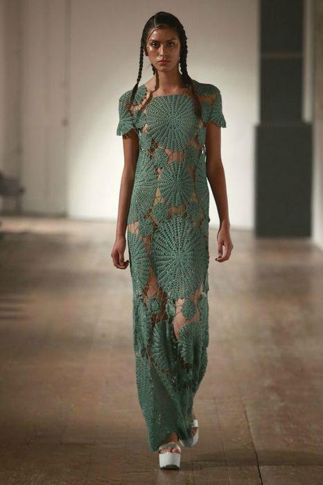 Вязаные платья 2019 (1)