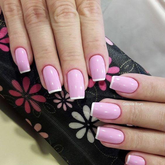 Нежный дизайн ногтей весна 2019 (42)