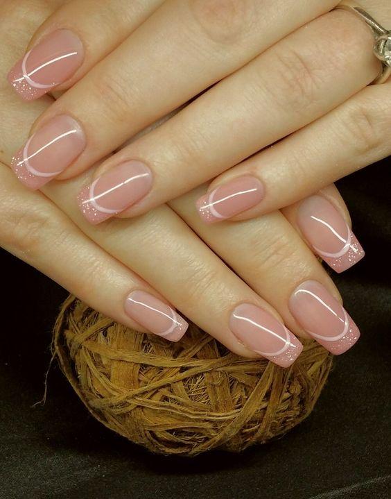 Нежный дизайн ногтей весна 2019 (30)