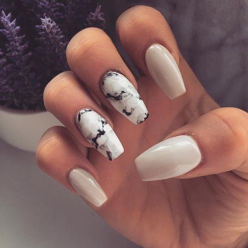 Нежный дизайн ногтей весна 2019 (20)