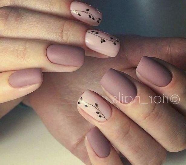 Нежный дизайн ногтей весна 2019 (7)