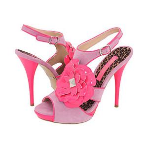 Розовые босоножки 2010