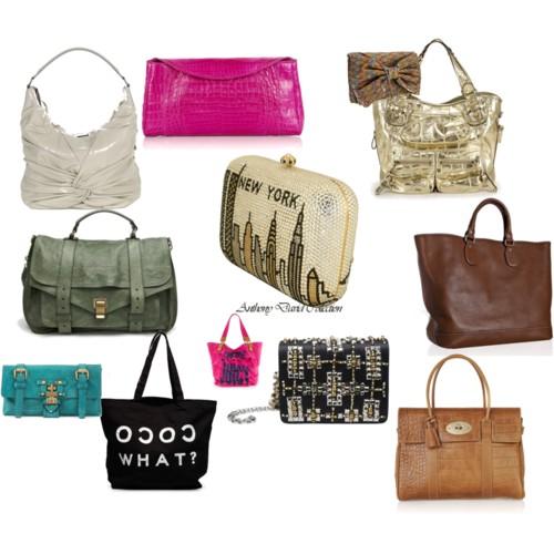 Этим летом стоит серьезно подойти к выбору сумок. Летняя сумка 2010 – нежная и легкая.  На смену большим сумкам-мешкам приходят небольшие сумочки-клатчи.  Модно: светлая сумочка-кошелек с принтами. Также в моде блестящие сумки-клатчи. Для людей,  которые любят положить в сумку по-максимуму хорошо подойдут сумки строгого пошива по типу  Hermes. Также для работы хорошо подойдут брендовые сумки-портфели. Актуальными для летнего сезона станут и сумки из ткани. Особой популярностью будут пользоваться клатчи из джинсовой ткани, а также сумки из грубой ткани.