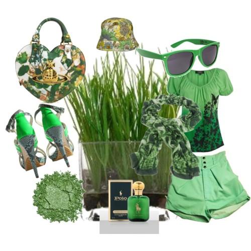 Зеленая одежда 2010