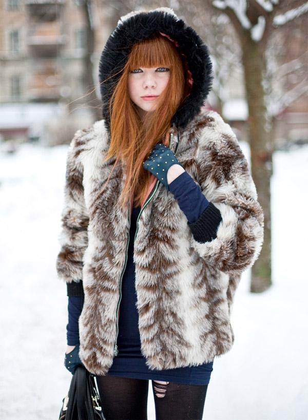 Рыжие волосы прически 2010