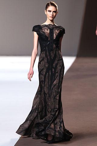 На фото1 - длинные выпускные платья 2011