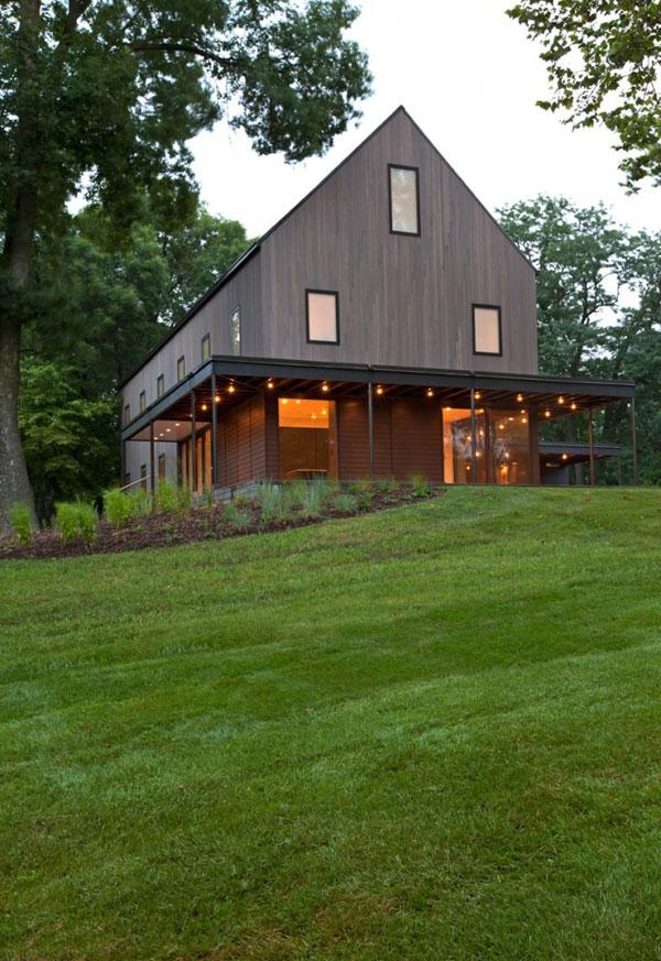 Дом в стиле арт-минимализм