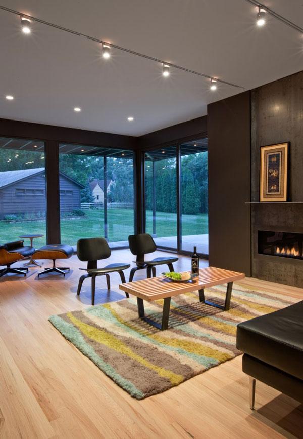Дом в стиле арт-минимализм, фото