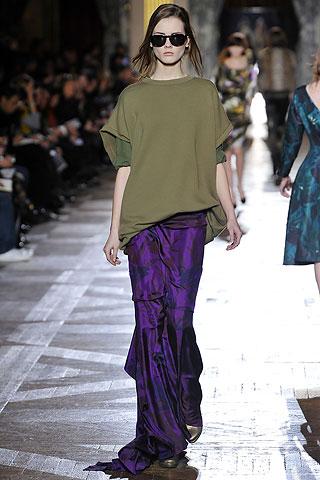 Модные длинные юбки осень-зима 2010-2011