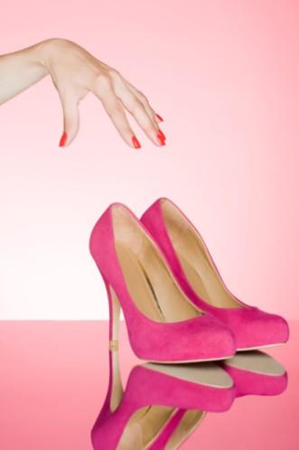 Обувь на высоком каблуке