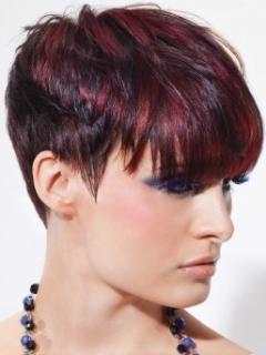 Колорирование для темных волос