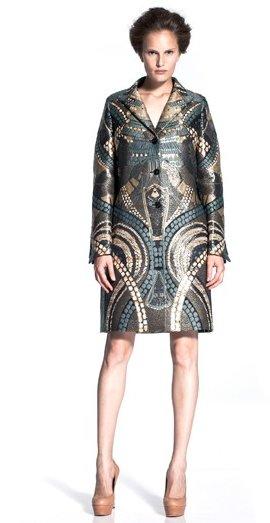 Alexander McQueen круизная коллекция 2011