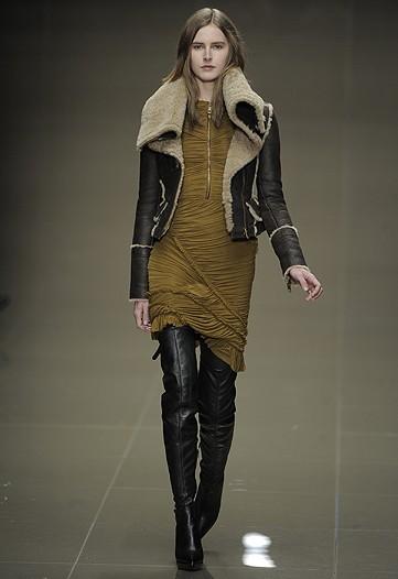 Кожаная куртка Burberry_Prorsum