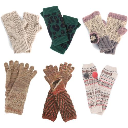 Вязаные перчатки,варежки,митенки