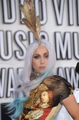 Леди Гага на  на вручении кинопремии MTV Video Music Awards 2010