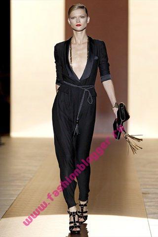 Модные прически весна 2011 от Gucci