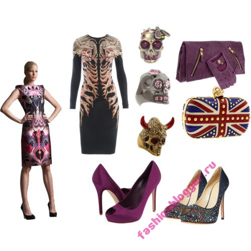 Модная одежда и аксессуары от Alexander McQueen
