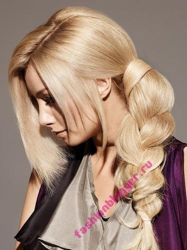 Cтильные прически для длинных волос 2010