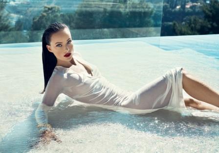 Olivia Wilde для журнала Vanity Fair. Декабрь 2010