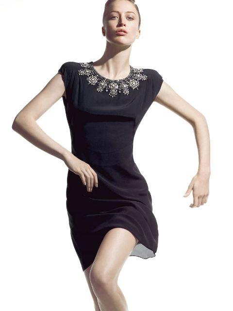 Модные платья для Рождества 2011