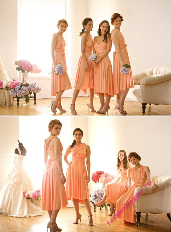 Вечерние платья от Twobirds