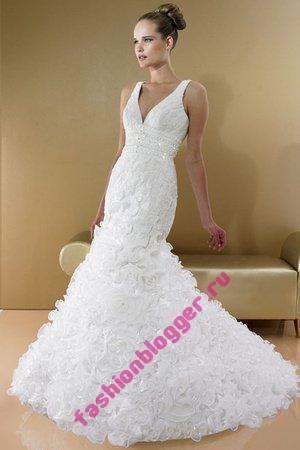 Облегающие свадебные платья 2011