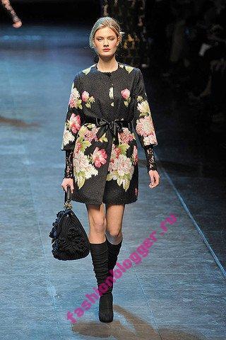 Модное зимнее пальто 2011