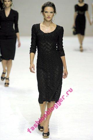 Платья Dolce&Gabbana 2011