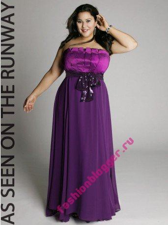 Фото концертных платьев для полных девушек