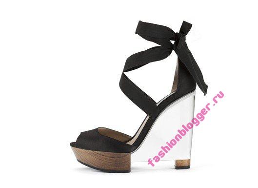 Модные аксессуары и обувь весна-лето 2011 от Giorgio Armani