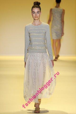 Длинные юбки весна 2011