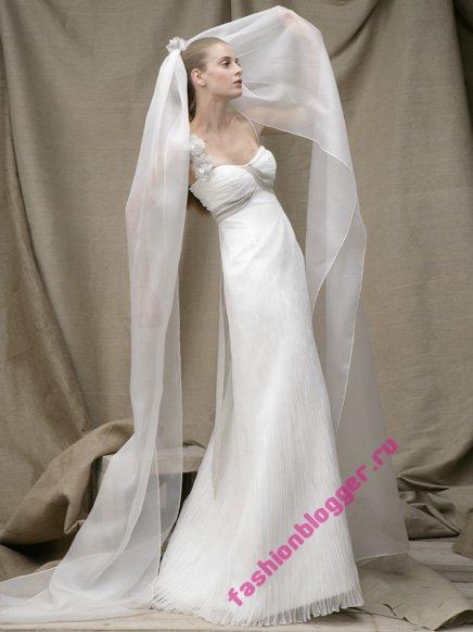 Свадебные платья весна 2011