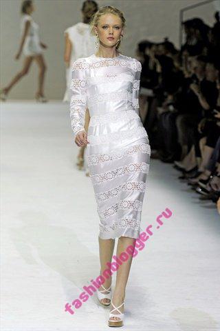 Женские модные платья 2011