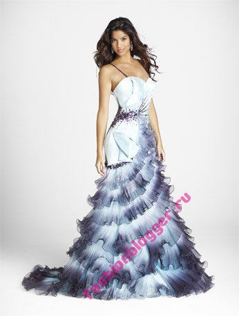 Модные вечерние платья 2011
