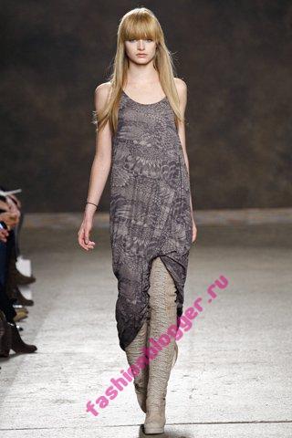 Модные платья осень-зима 2011-2012