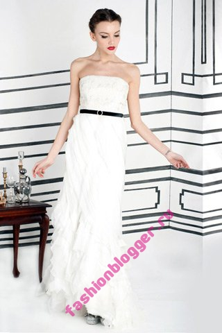 Модные вечерние платья 2012