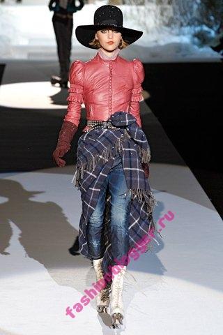 Модные джинсы зима 2012