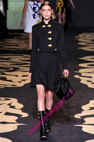 Коллекция Versace осень-зима 2011-2012