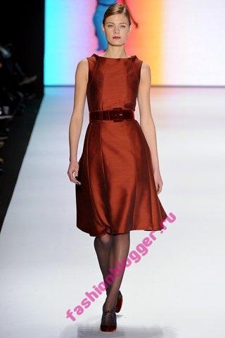 Коллекция Carolina Herrera осень-зима 2011-2012