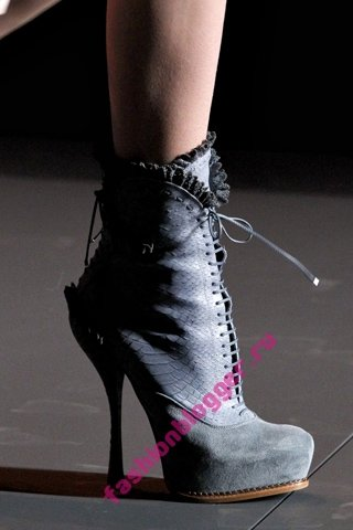 Модные ботинки осень зима 2011 2012 fashion