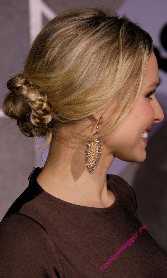 Вечерние прически для длинных волос 2011