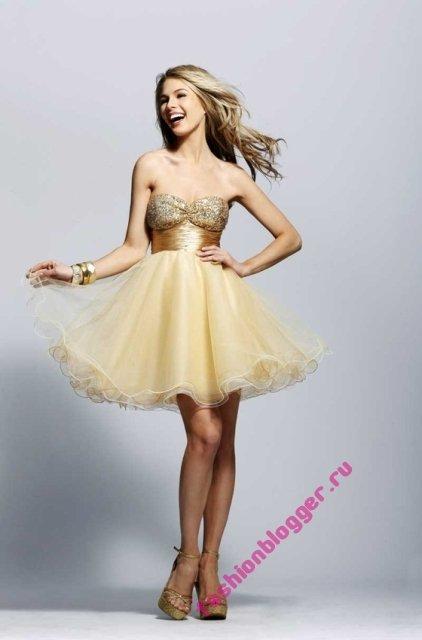 Модные платья для вечеринки 2011