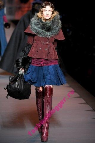 Модные тренды зима 2011-2012